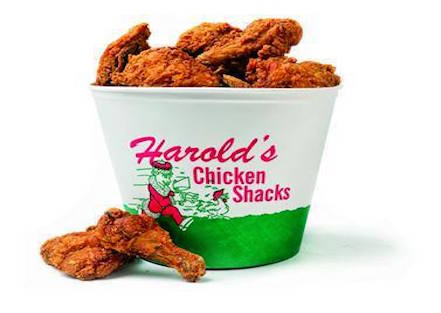 Harold's chicken evanston bucket